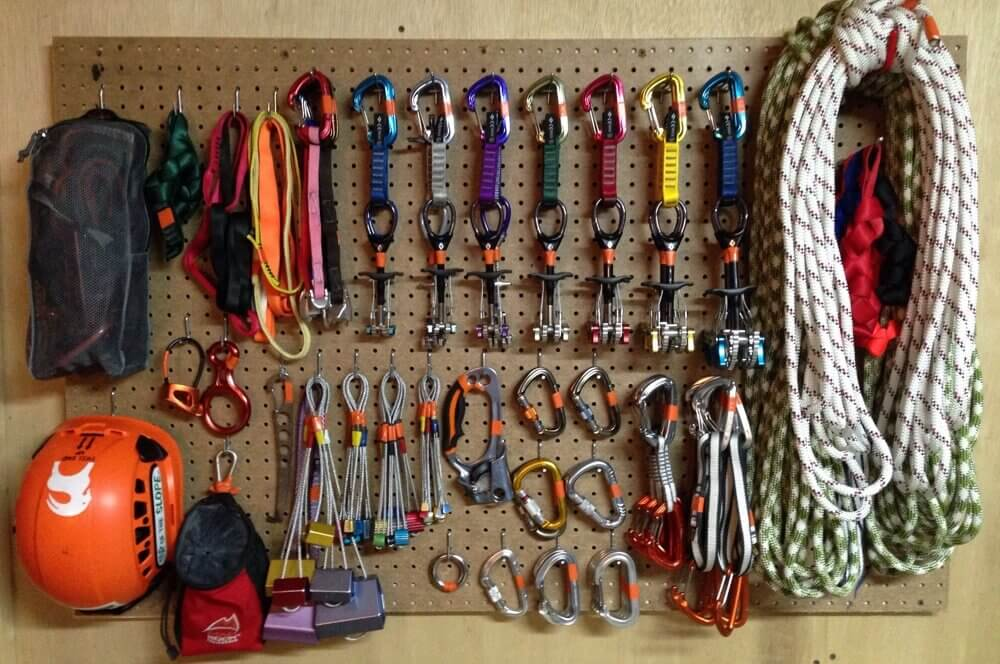 Things you will need to buy for rock climbing.